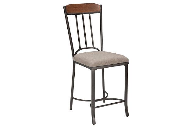 Zanilly tabouret de bar de hauteur comptoir meubles ashley homestore - Hauteur tabouret comptoir ...