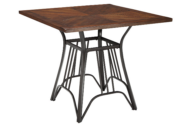 Zanilly Counter Height Dining Room Table by Ashley HomeStore, Two-tone