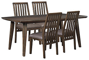 Kisper Dining Table and 4 Chairs, , large
