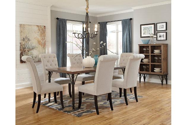 Tripton Dining Room Chair Ashley Furniture HomeStore - Custom table pads 69 usd