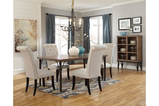 tripton dining room table | ashley furniture homestore