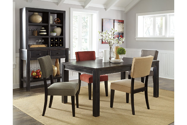 gavelston dining room table  ashley furniture homestore, Home designs