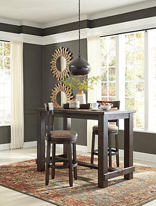 Drewing Dining Table and 2 Chairs, , large