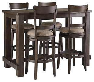 Drewing Dining Table and 4 Chairs, , large