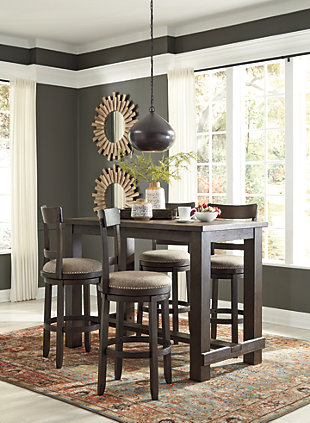 Drewing Counter Height Dining Set, , large