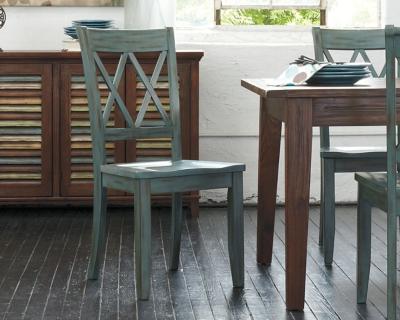 2 Ashley Furniture Mestler Dining Side