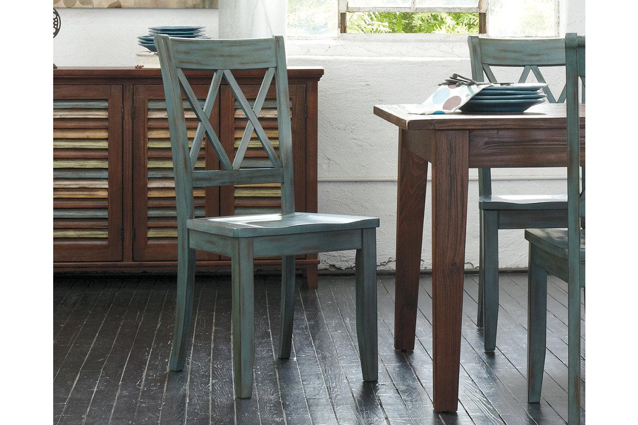 Pleasant Mestler Dining Room Chair Ashley Furniture Homestore Home Interior And Landscaping Dextoversignezvosmurscom