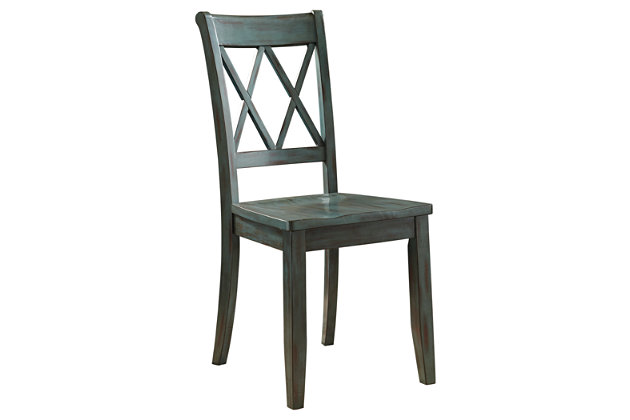Mestler dining room chair ashley furniture homestore for Furniture 101