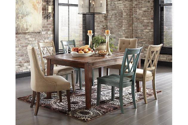 Mestler Dining Room Chair Ashley Furniture Homestore
