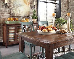 Mestler Dining Room Server, Dark Brown, large