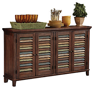 Mestler Dining Room Server, Dark Brown, large