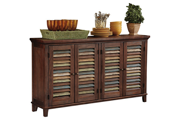 mestler dining room server | ashley furniture homestore