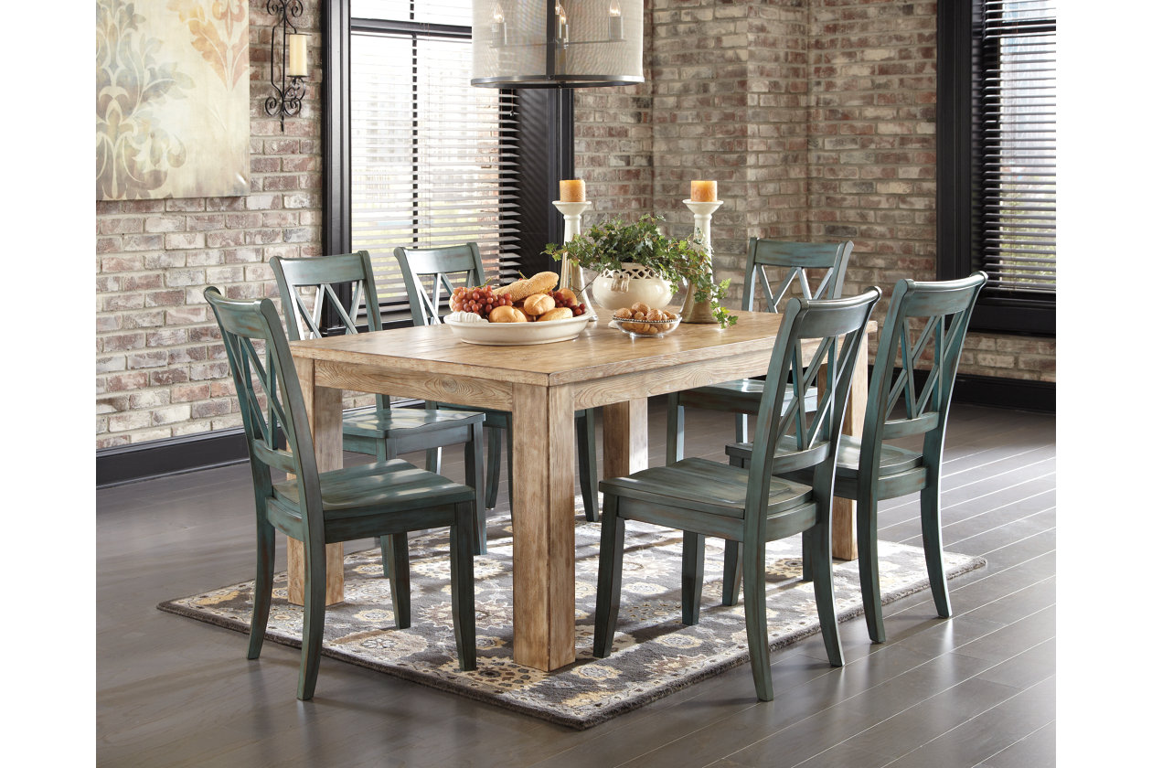 Admirable Mestler Dining Room Table Ashley Furniture Homestore Home Interior And Landscaping Dextoversignezvosmurscom