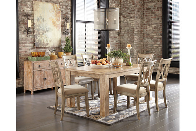 Mestler Dining Room Chair | Ashley Furniture HomeStore