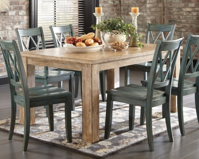 Ashley Mestler Dining Room Table, Bisque