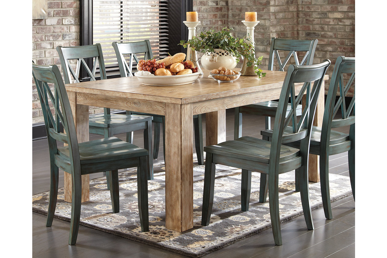 Mestler Dining Room Table Ashley Furniture Homestore