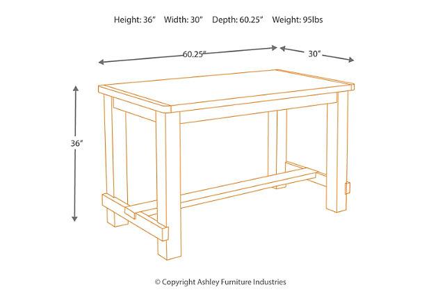 Pinnadel table de salle manger de hauteur comptoir for Hauteur table a manger