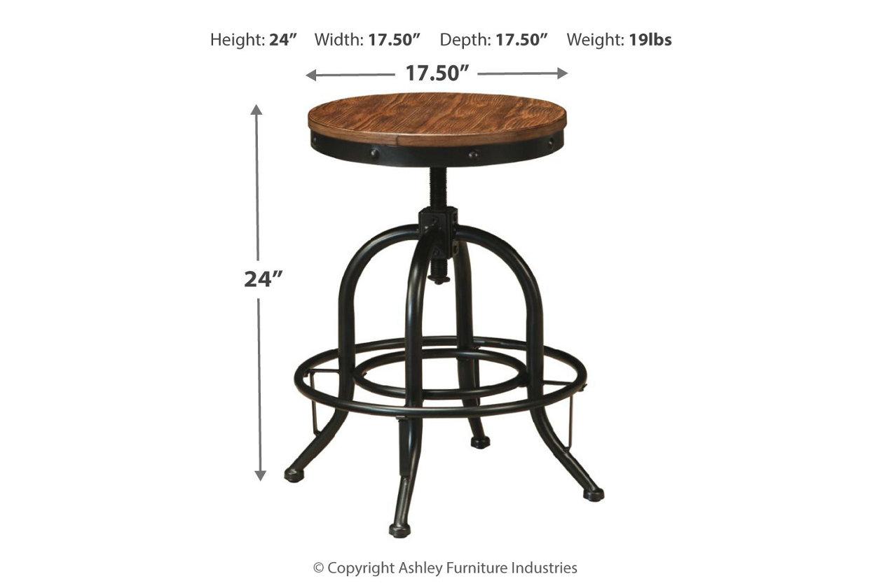 Astounding Pinnadel Counter Height Bar Stool Ashley Furniture Homestore Machost Co Dining Chair Design Ideas Machostcouk