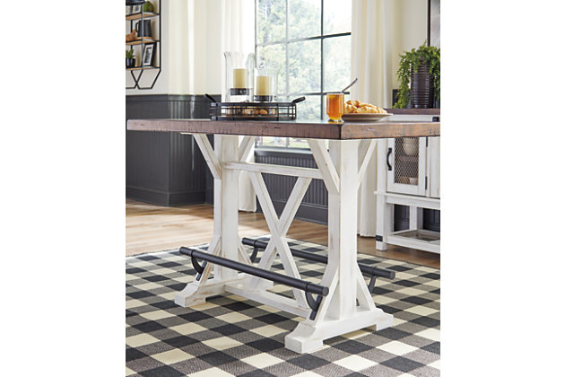 Valebeck Counter Height Dining Room Table, , large