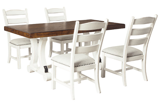 Valebeck Dining Table and 4 Chairs, , large
