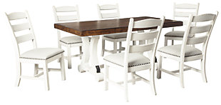 Valebeck Dining Table And 6 Chairs Set Ashley Furniture Homestore