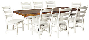 Valebeck Dining Table and 8 Chairs, , large