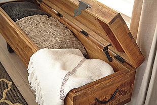 Glosco Storage Bench, , large