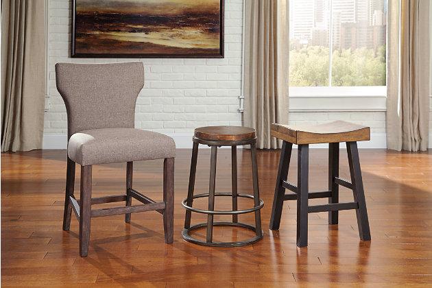 Glosco Counter Height Bar Stool Ashley Furniture Homestore