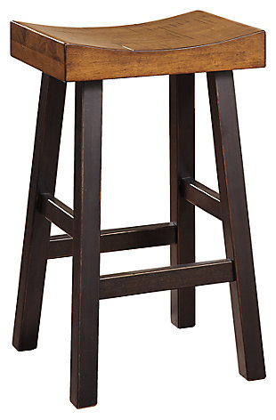 Glosco Bar Height Bar Stool, , large