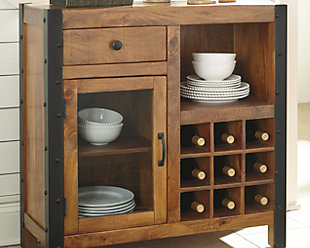 Glosco Wine Cabinet, , large