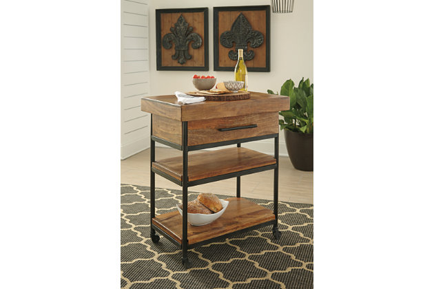 Glosco Serving Cart, , large
