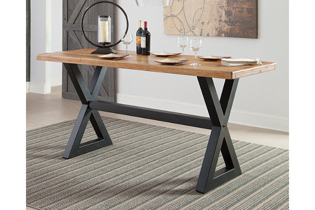 Glosco Counter Height Dining Room Table | Ashley Furniture HomeStore