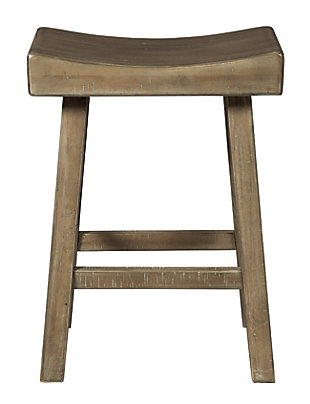 Glosco Counter Height Bar Stool, Natural, large
