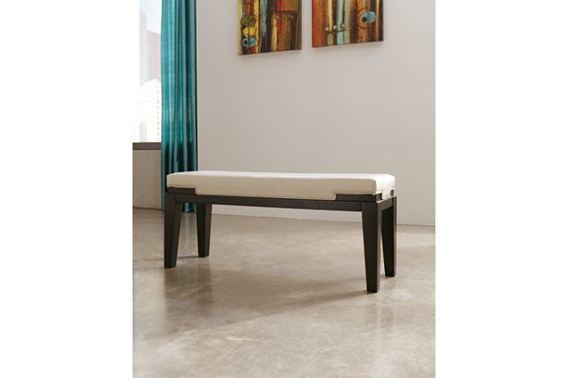 White Trishelle Dining Room Bench by Ashley HomeStore