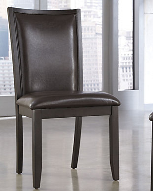 trishelle dining room chair - Leather Dining Room Furniture