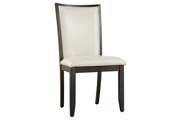 White Trishelle Dining Room Chair (Set of 2) by Ashley HomeStore