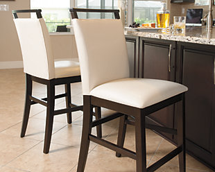 trishelle counter height bar stool - Counter Height Chairs