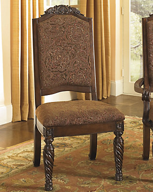 Large North Shore Dining Room Chair Rollover