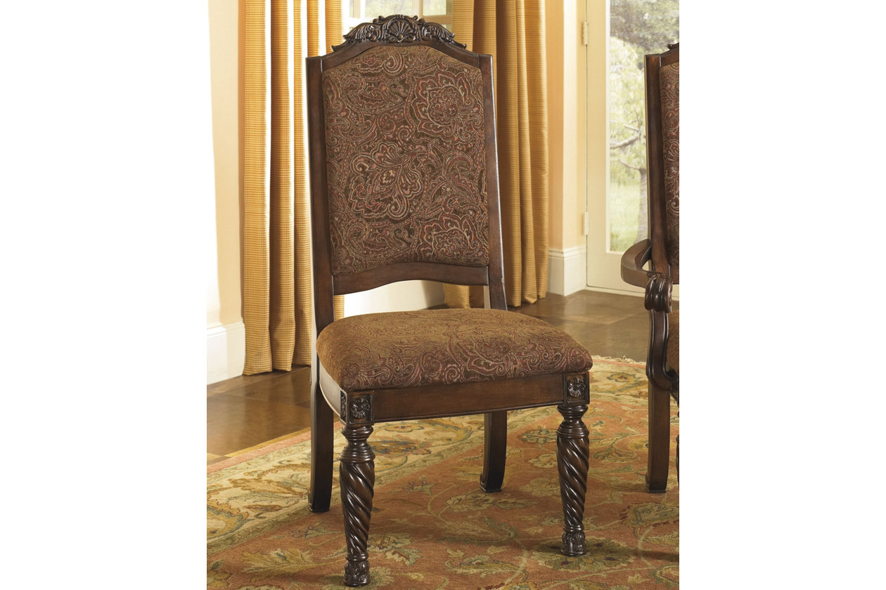 Shop Queen Anne Desk Chair Set Free Shipping Today >> North Shore Dining Room Chair Ashley Furniture Homestore