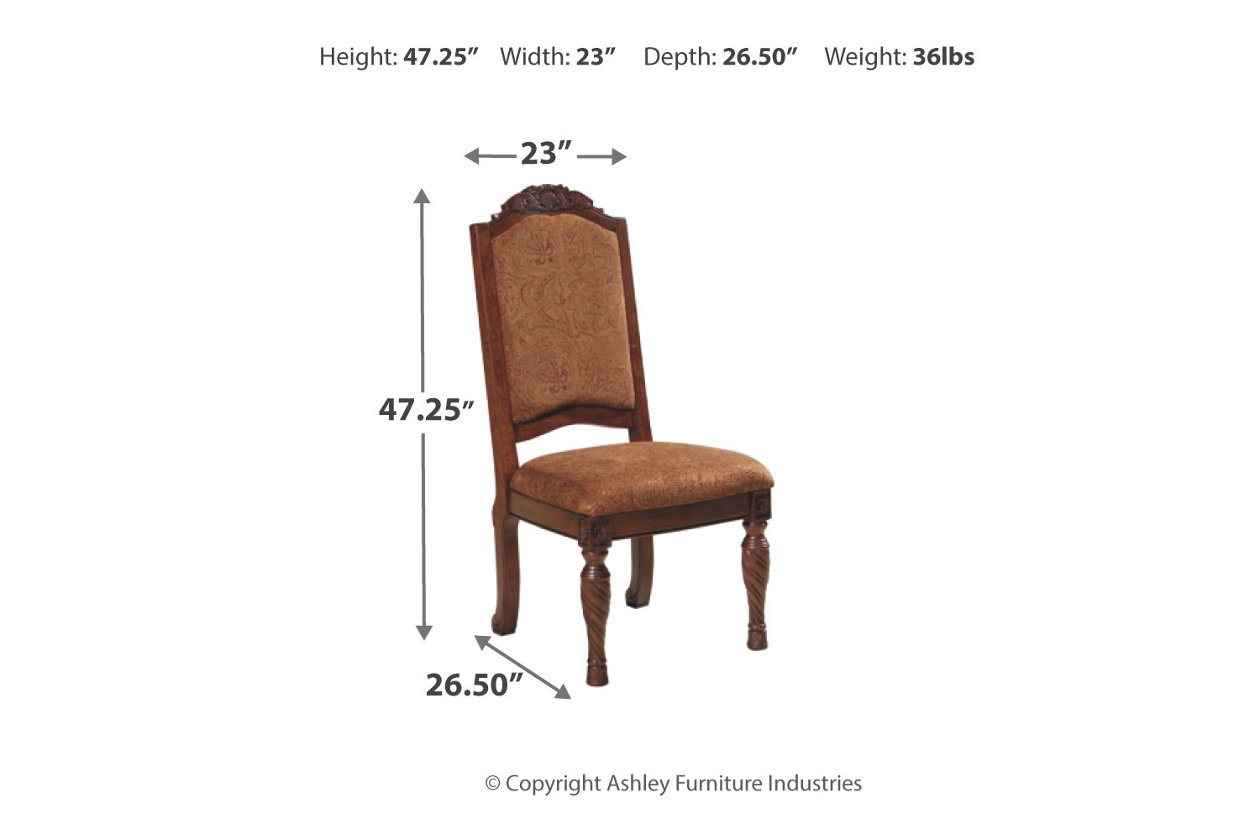 North Shore Dining Chair Ashley Furniture Homestore