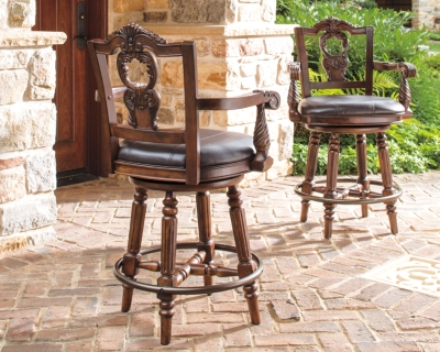 Picture of: North Shore Counter Height Bar Stool Ashley Furniture Homestore