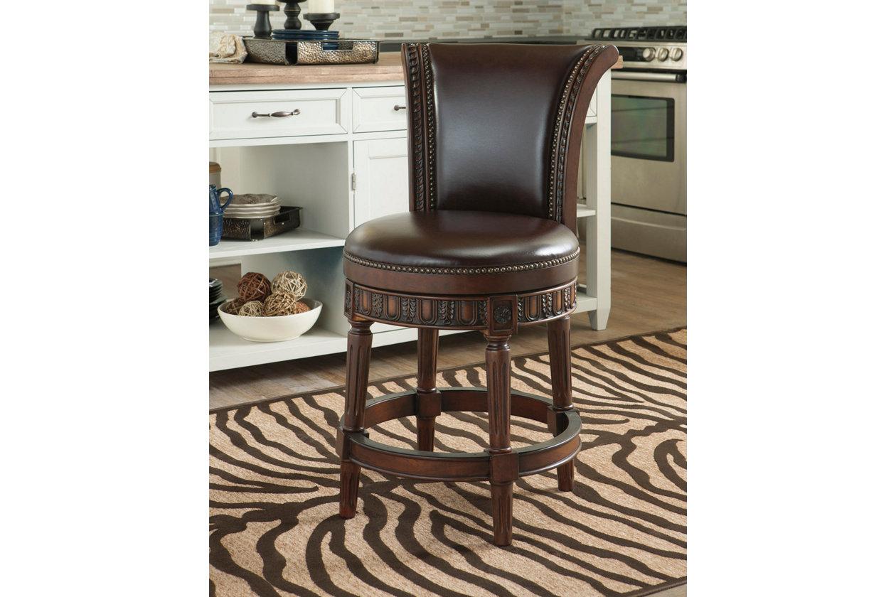 Wondrous North Shore Counter Height Bar Stool Ashley Furniture Dailytribune Chair Design For Home Dailytribuneorg