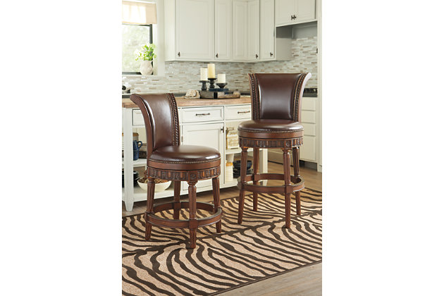 North Shore Bar Height Bar Stool Ashley Furniture Homestore