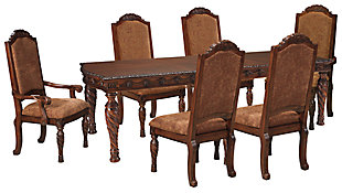 North Shore Dining Table and 6 Chairs, , large