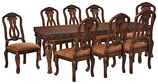 North Shore Dining Table and 8 Chairs, , large