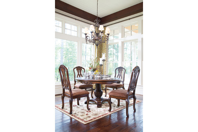 north shore dining room chair | ashley furniture homestore