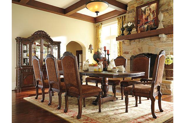 north shore dining room chair ashley furniture homestore north shore rectangular dining room set signature design