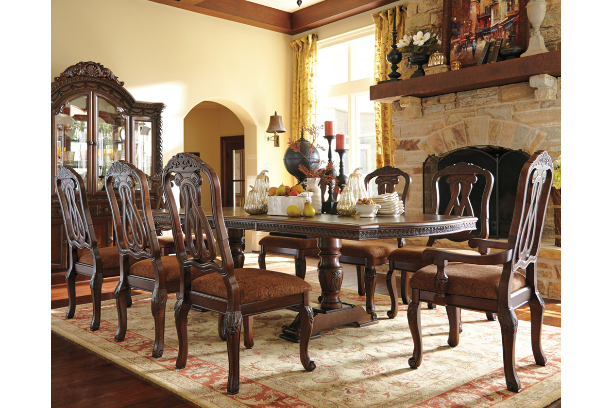 North Shore Dining Room Table Top Ashley Furniture Homestore
