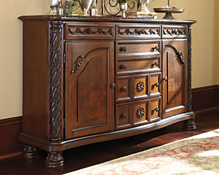 North Shore Dining Room Server Ashley Furniture Homestore