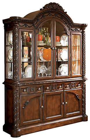 china cabinets & kitchen hutches | ashley furniture homestore